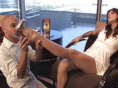 Hot naked old grandmas feet big cock