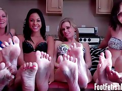 Drunk young Nude lesbian girls feet mother like her big Tits