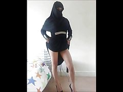 Ass on tap Turkish-Arabic-Asian mix of gentle sex