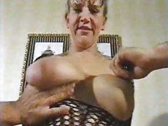 Blonde slut face milf in the end